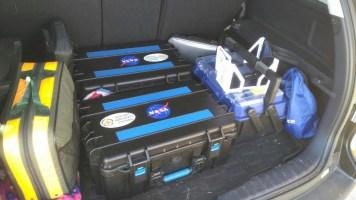 Vigilant Aerospace Equipment loaded for emergency response to Houston