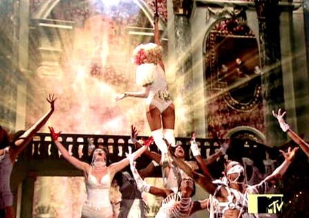 550w music lady gaga vma perform 2 The 2009 VMAs: The Occult Mega Ritual