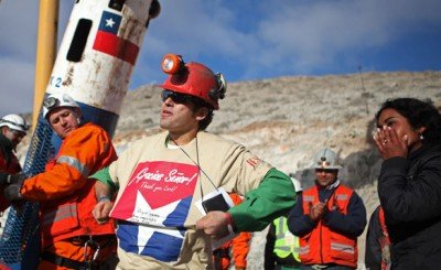 The Odd Masonic Imagery of the 33 Chilean Miners' Rescue
