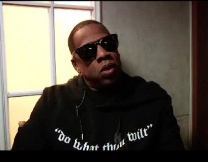 "Jay-Z wearing a shirt with Crowley's most famous saying: ""Do What Thou Wilt"""