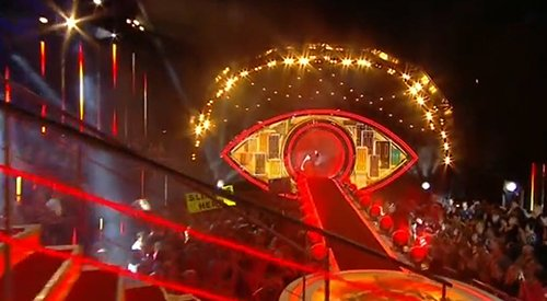 Big Brother UK is a show that is called...Big Brother. And it is about cameras spying on people to entertain the masses. The first show of the season featured a gigantic All-Seeing eye stage with people cheering all around it. That's how the elite indoctrinates people.
