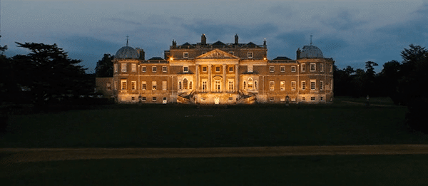 The fact that the Kingsman train at Wortham Park, which is the type of country house built by the elite for the elite, further reinforces who they are connected to.