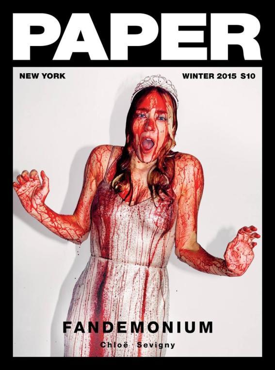 Sangue de inocentes em uma garota virginal. Isso é o que a indústria gosta de fazer.