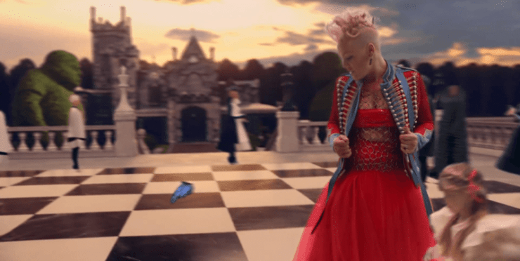 """Pink's """"Just Like Fire"""": Another Blatant Video About Monarch Mind Control"""