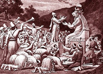 End of April: Still a Time of Fire and Human Sacrifice