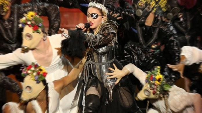 Leadeurovision3 Eurovision 2019 Finale und die okkulte Bedeutung von Madonnas kontroverser Performance