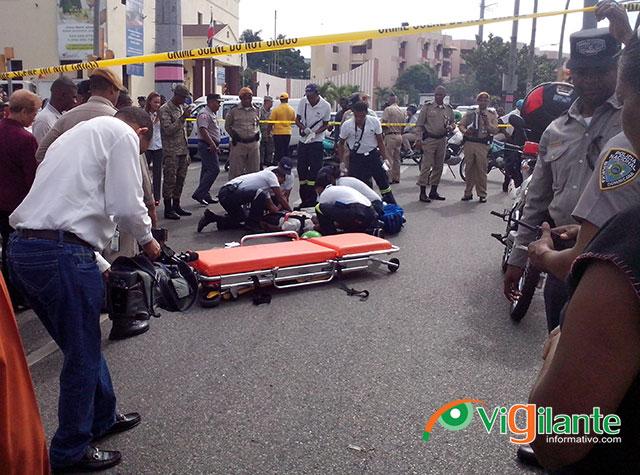 Atropellan peatón en la avenida México con 30 de marzo
