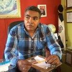 William Figuereo, presidente de la Asociación de Comerciantes de la avenida 6 de Noviembre
