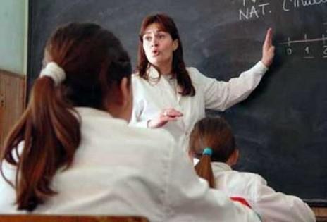 Profesores quieren mejores condiciones de vida