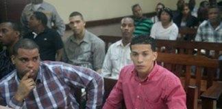 Los dirigentes del Felabel en el tribunal.