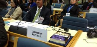 Domingo Contreras, vice-ministro de Medio Ambiente durante la primera Asamblea de la ONU para el Medio Ambiente