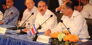El presidente Danilo Medina en la cumbre del Sica habla de la pobreza en República Dominicana.