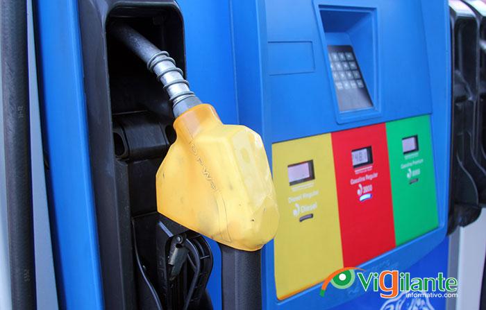 Precios de los combustibles se mantienen igual