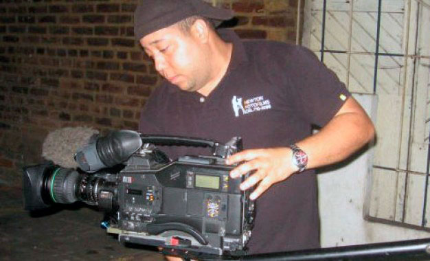 Newton González, camarógrafo asesinado
