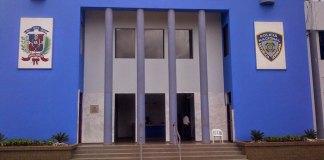 Sede de la Policía Nacional en San Pedro de Macorís