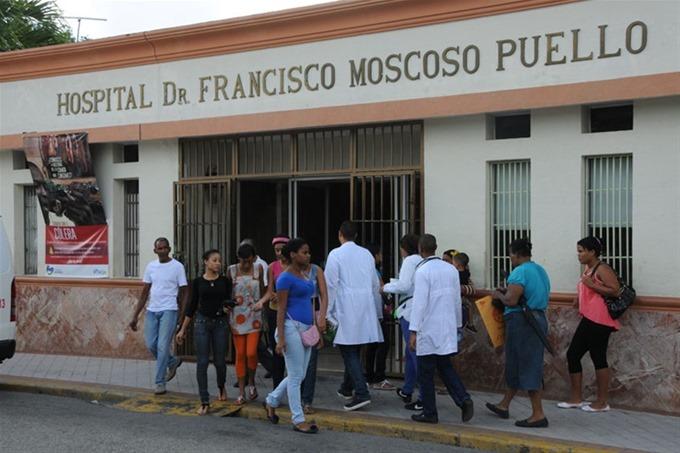En este hospital se produjo la agresión a la periodista de Antena Latina.
