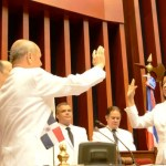 Cristiana Lizardo jura como primera presidenta del Senado