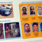 La Policía presentó este martes las fotos de los supuestos asaltantes de un camión de valores en el que mataron a un vigilante e hirieron a otro.