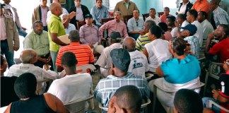 Una de la visita sorpresa realizada por el presidente Danilo Medina en la que escucha a las necesidades de las comunidades