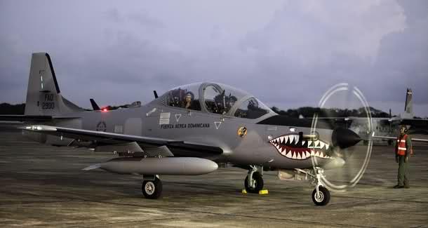 Avión Súper Tucano
