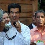 Concejal Ydanis Rodríguez en un acto en el Bronx de Nueva York en el que acompañó al senador Adriano Espaillat por el que está pidiendo que voten. (Foto: Genris García)