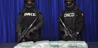 DNCD presentó la cocaína o heroína encontrada en un allanamiento realizado en una vivienda en el sector Los Soto Arriba, municipio de Higüey, provincia La Altagracia