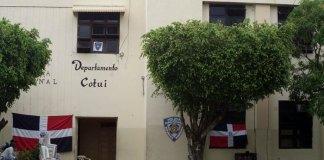Cuartel de la Policía Nacional en Cotuí