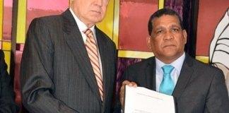 Rafael Alburquerque presenta el anteproyecto de Ley de Partidos