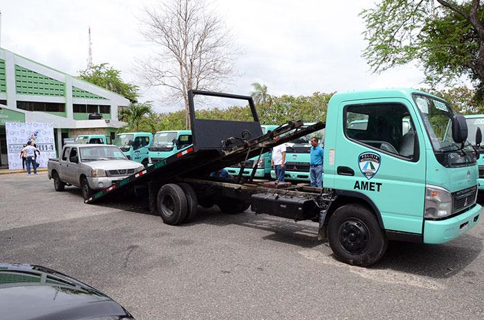 Amet remolcó 61 motocicletas y 21 vehículos por distintas violaciones a la ley de tránsito