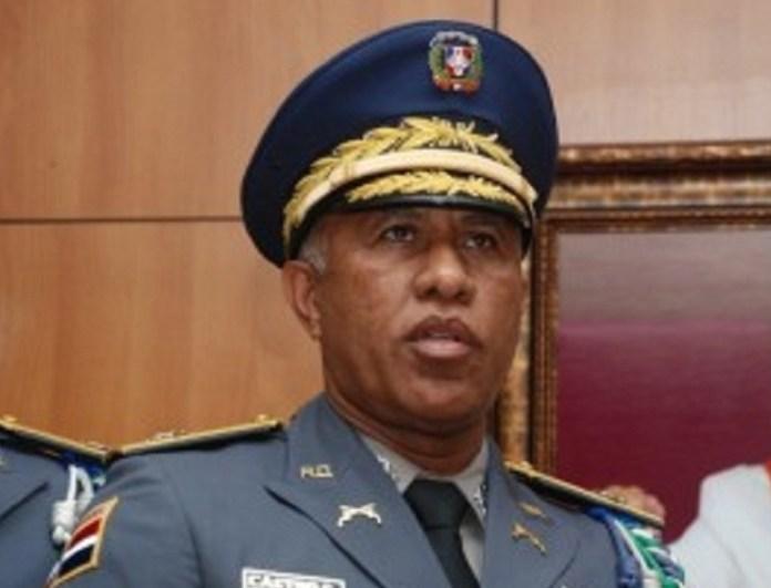 Manuel Castro Castillo, jefe de la Policía Nacional