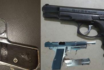 Policía en SDE saca de las calles 87 armas ilegales en dos meses
