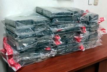 DNCD decomisa 46 kilos de cocaína en La Romana