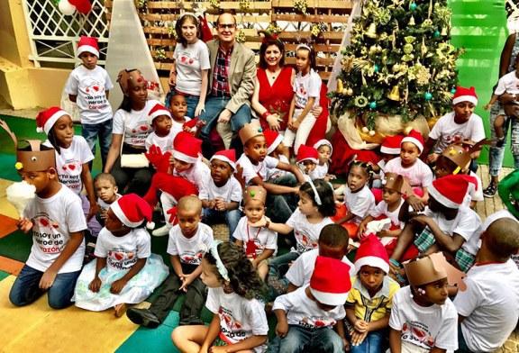 Fundación Latiendo por Ti celebra encuentro con niños del Robert Reid