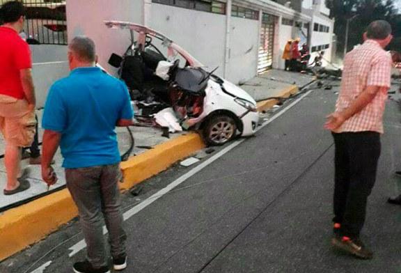 Accidente en la Núñez de Cáceres deja una persona muerta