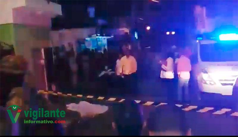 Oficial retirado asesinado habría baleado uno de los asaltantes