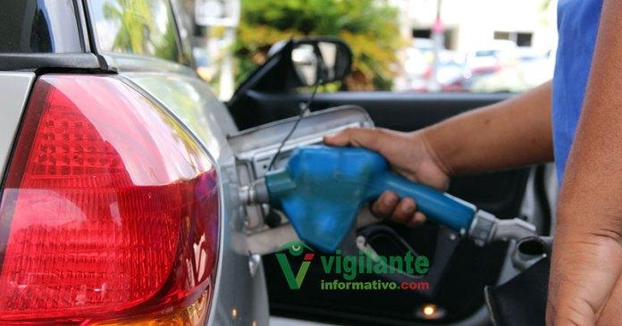 combustibles entre RD$1.00 y RD$2.00