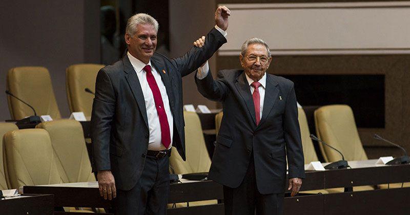 Miguel Díaz-Canel nuevo presidente de Cuba
