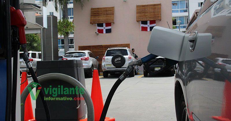 Combustibles bajan esta semana entre RD$1.00 y RD$4.00