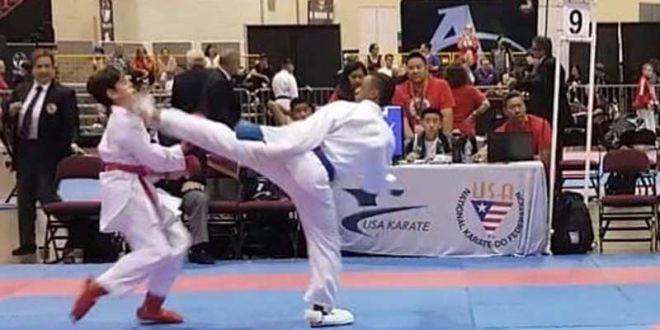 Jovencito de Los Mina gana oro en Karate tradicional en EEUU