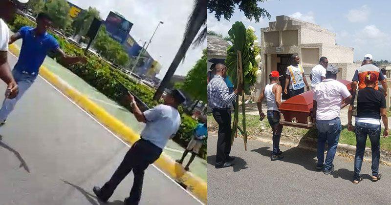 Sepultan hombre mató Policía Municipal por limpiavidrios