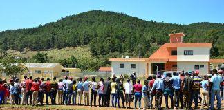 En zona montañosa de Padre Las Casas