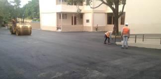 Obras Públicas asfalta