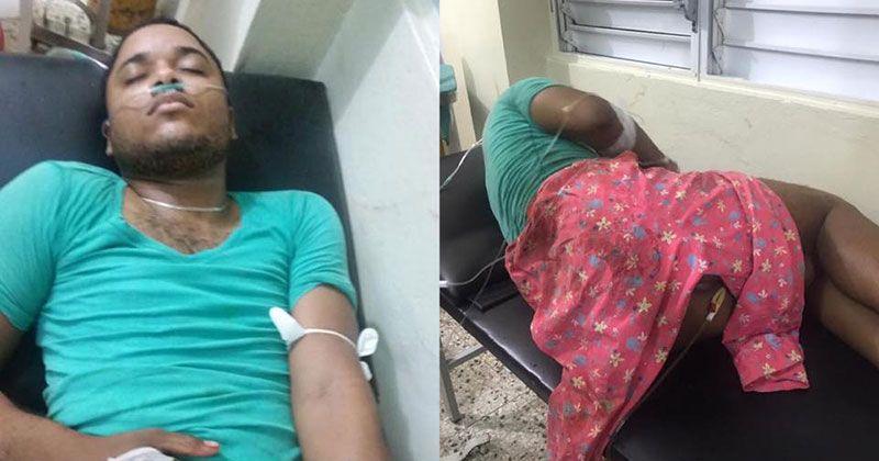 Apresan en hospital de Bani hombre baleado en intento de robo en El Almirante