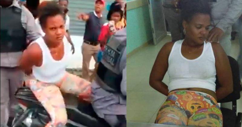 Policía apresa mujer acusada de intentar robar un niño en Boca Chica