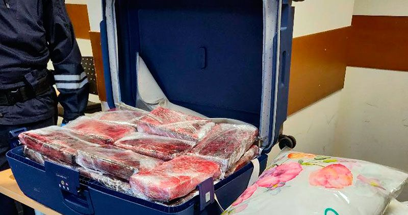 DNCD apresa ocho personas por enviar cocaína a Francia y Canadá