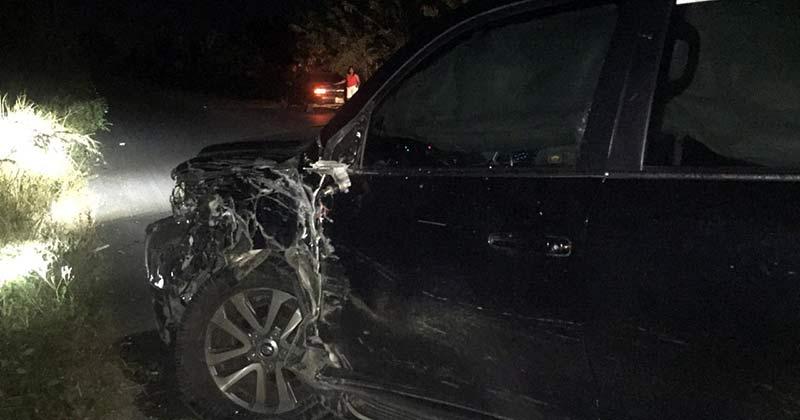 Diputada Mónica Lorenzo sufre accidente carretera Higüeral