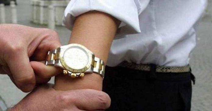 robos de relojes