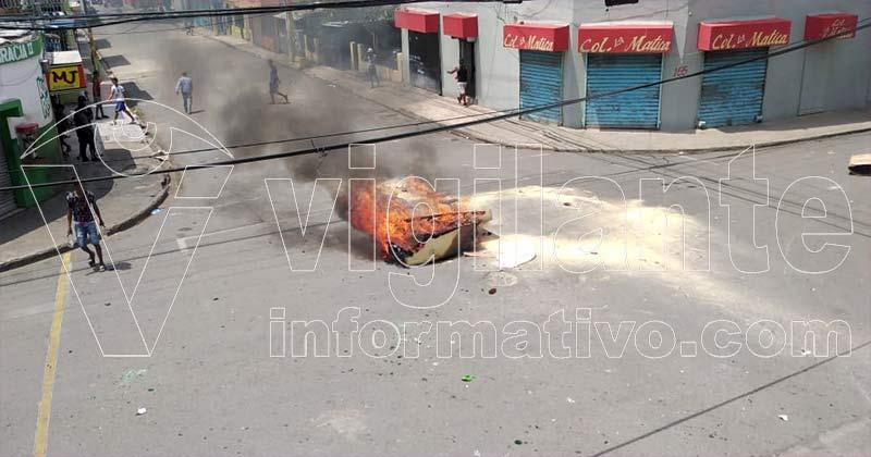 Enfrentamientos en Capotillo por recuerdo de abril