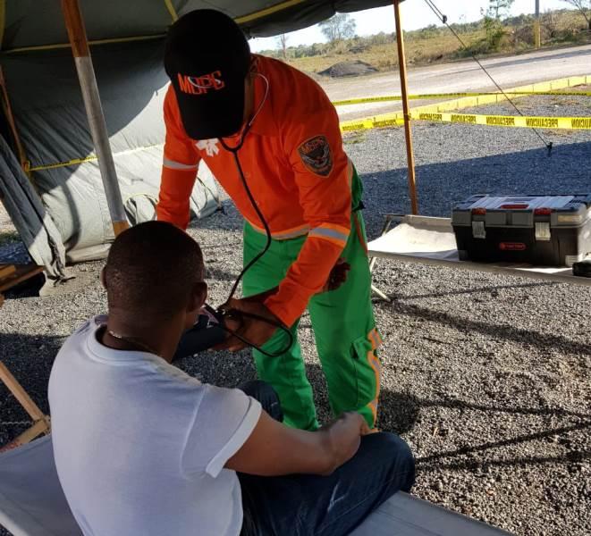 Emergencias prehospitalarias MOPC atiende vacacionistas