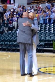 7 Slick Showing Mark & Slick embrace